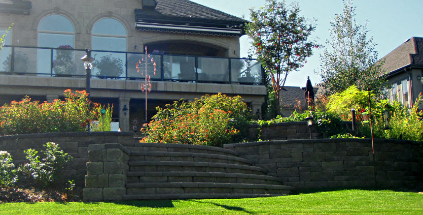 calgary residential landscaping construction homescapes