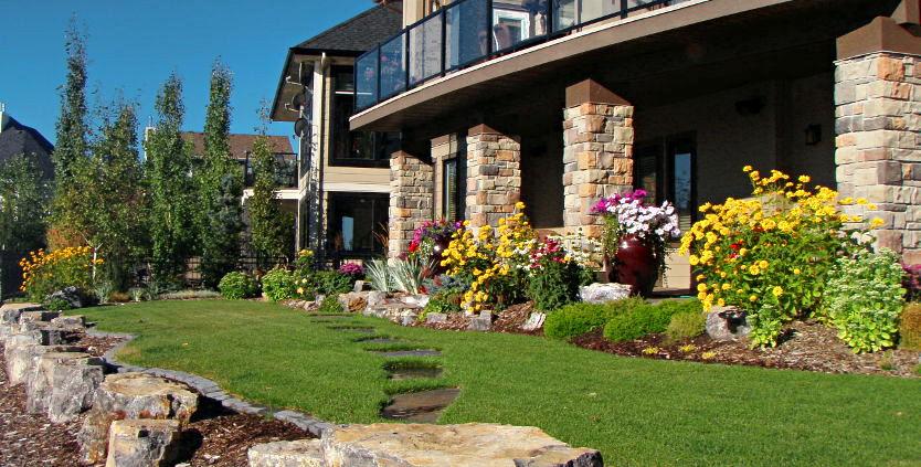 Residential Landscape Design In Calgary