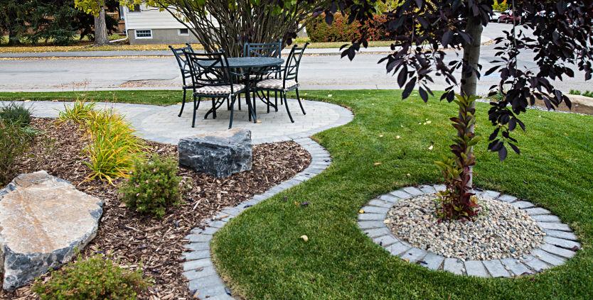 Awards winning calgary complete residential landscaping for Landscape design calgary
