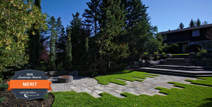 Awards Winning Calgary Complete Residential Landscaping | HOMESCAPES